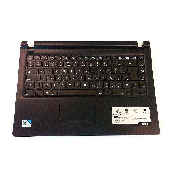 Teclado Notebook Cce Win U25 N325 Original Com Frame