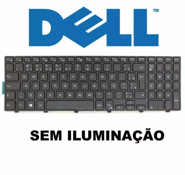 Teclado Dell I15 Moldura ABNT Ç - Nsk-lr0bc - SEM ILUMINAÇÂO