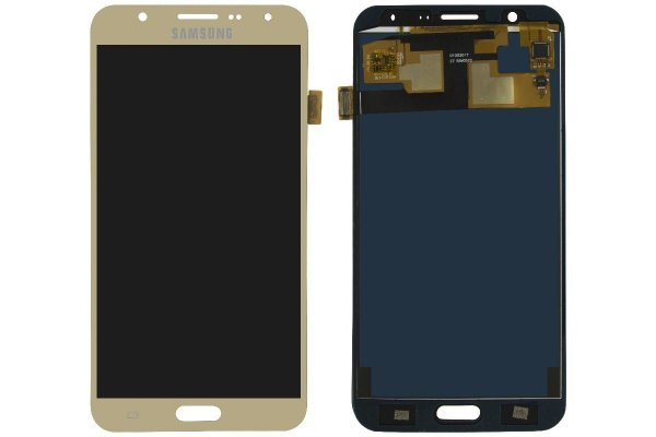 Tela Touch Display LCD Frontal Samsung Galaxy J7 J700 Dourado - Original