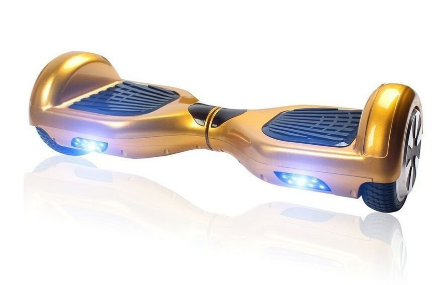 Hoverboard Smart Balance Scooter Skate Bateria Samsung Bivolt - Dourado