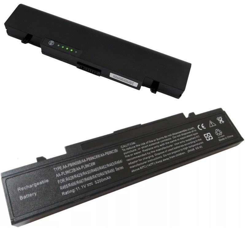 Bateria Compatível De 6 Células Aa-pb9nc6b Notebook Samsung