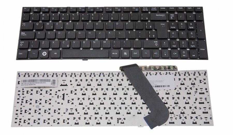 Teclado Compatível Notebook Samsung Np Rf511   Abnt2 Ç