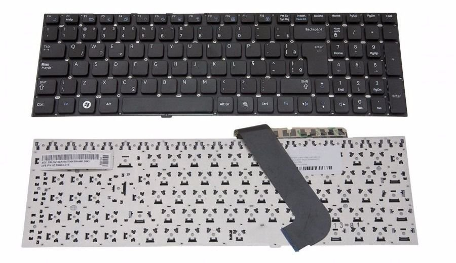 Teclado Compatível Notebook Semp Toshiba Lince Is-1454 Is-1555 Is-1556 Br Com Ç