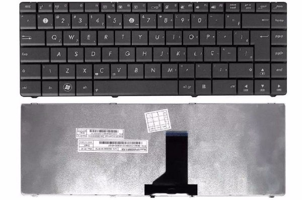 Teclado Notebook Asus K42jp ABNT com Ç  - Compatível