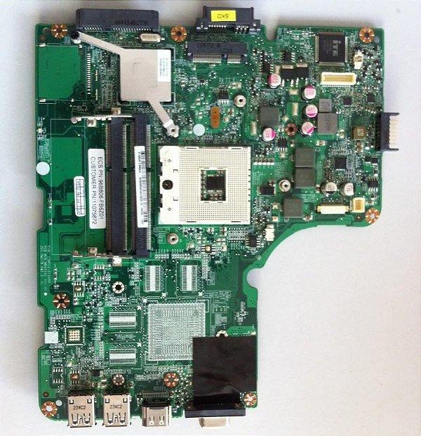 Placa Mãe Notebook 96b806-fb6z01 Positivo Premium N8575 Rpga-989 Ddr3