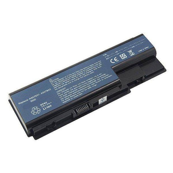 Bateria Notebook Acer Emachines E720   5200 mAh 10.8V 6 Células