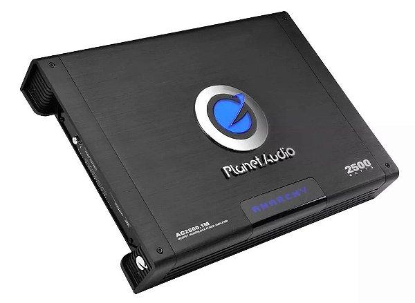 Módulo Amplificador Planet Áudio 1 Canal 2500W Classe A/B | Automotivo