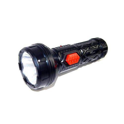 Lanterna Led 1907 Mini Recarregavel - Preto