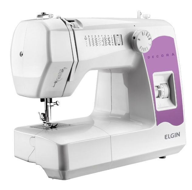 Máquina De Costura Elgin Decora JX2080 Portátil - 110V