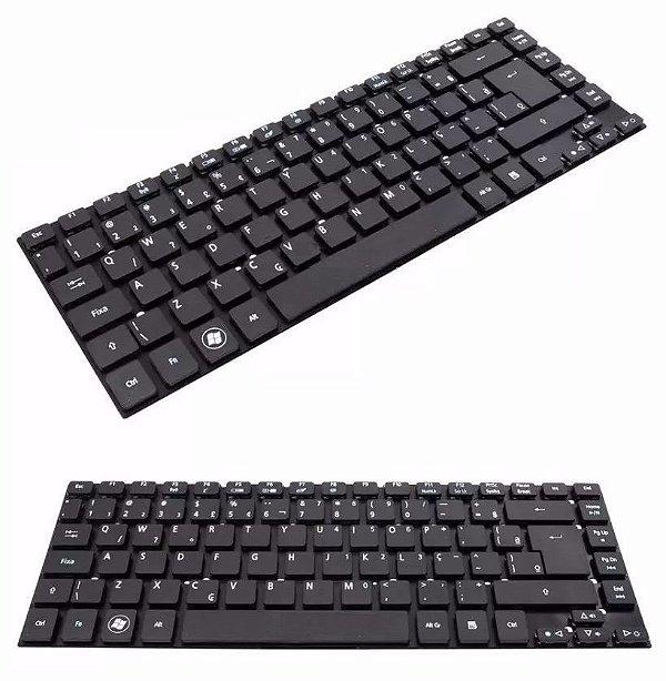 Teclado Para Notebook Acer Aspire Es1-411 Es1-511 E1-430 Mp-10k26pa-9209w