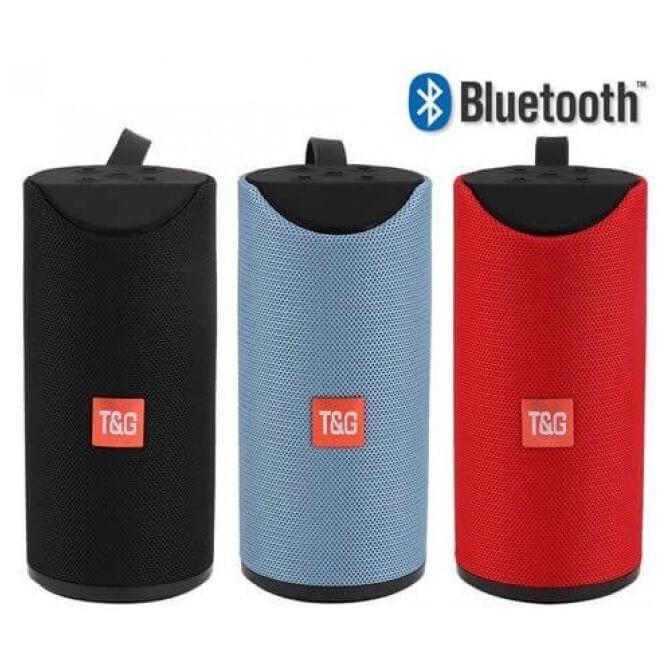 Caixa De Som T&G 113 Portable Wireless USB Bluetooth Speaker