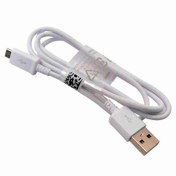 Cabo Micro USB para Celular Samsung Original Branco