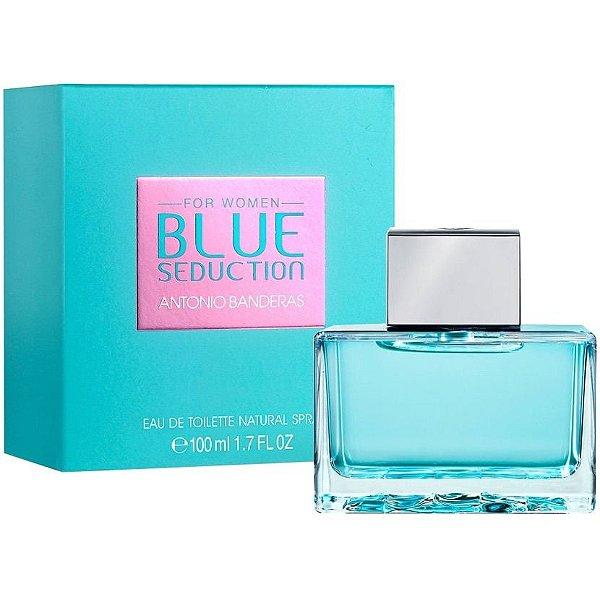Blue Seduction For Woman Antonio Banderas - Perfume Feminino - Eau de Toilette - 80ml