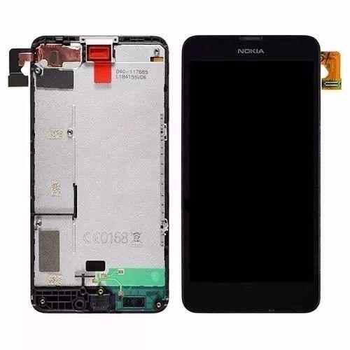 Tela Touch Display Lcd Frontal Nokia Lumia N635