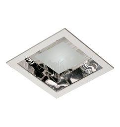 Luminária de Embutir 22x22cm 2xE27/UN-4p