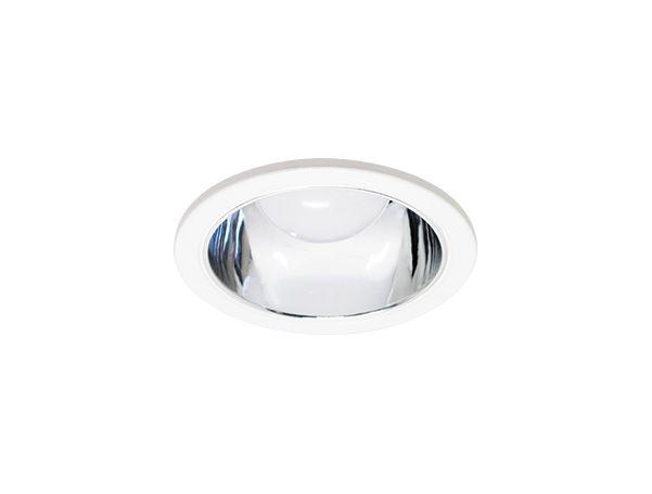 Luminária de Embutir Redonda Moldura e Refletor Alumínio 12cm