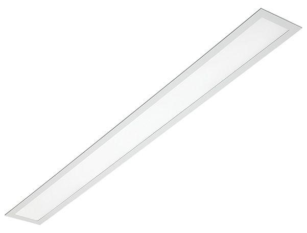 Luminária de Embutir Retangular 2xT8 120cm