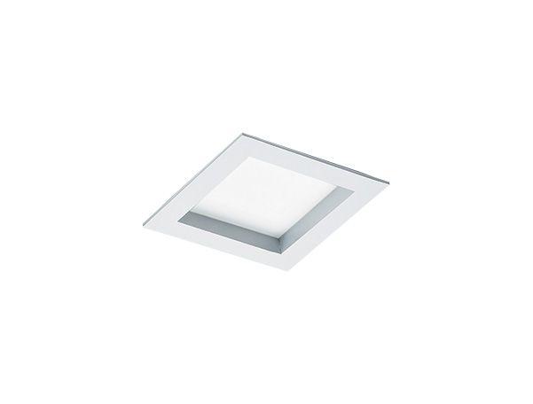Luminária de Embutir Quadrada 16x16cm 1xE27