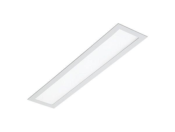 Luminária de Embutir Retangular 2xT8 de 60cm Faceado