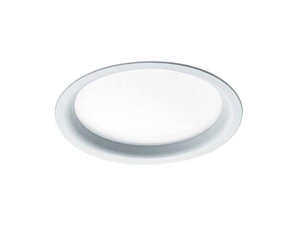 Luminária de Embutir Redonda 26cm 2xE27