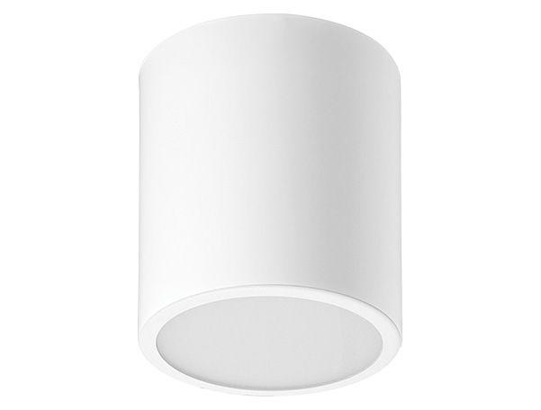 Luminária de Sobrepor Redonda Alumínio 12x15cm 1xE27