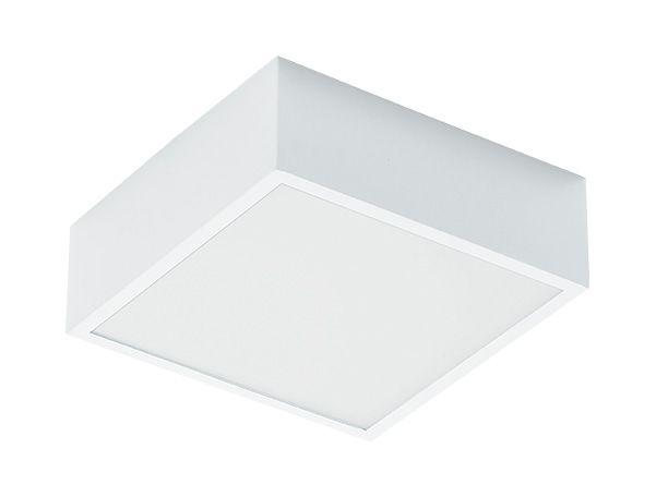 Luminária de Sobrepor Quadrada 19x19cm 2xE27