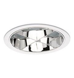 Luminária de Embutir 23cm com Refletor 2xE27/UN-4p