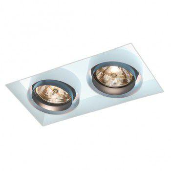 Luminária de Embutir 20x38cm AR111