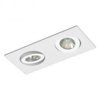 Luminária Retangular Embutir Direcional 6x16cm