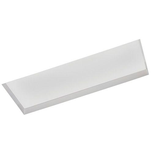 Luminária Retangular de Embutir 18x53cm