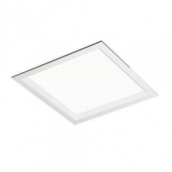 Luminária Quadrada de Embutir 19x19cm 2xUN-4p