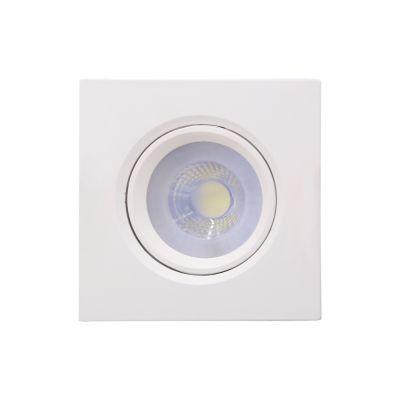 Spot Embutido Poli 3W 2700K LED 7,5x7,5cm