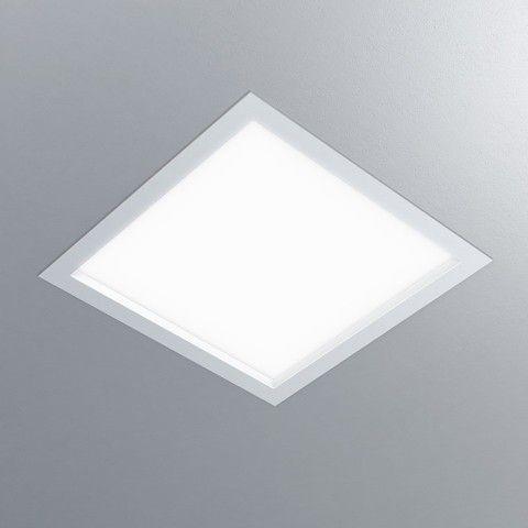Luminária Quadrada Embutir DAX 38x38cm
