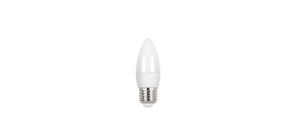 Lâmpada LED Vela Fosca 3W 260LM E27 3000K