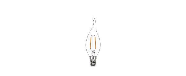 Lâmpada LED Vela Chama 2W 200LM E14 2400K