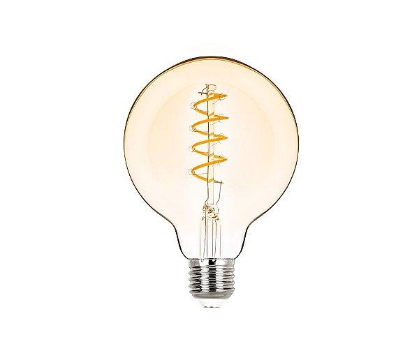 Lâmpada LED Balloon Espiral Vintage 2,5W 200LM 2400K G95