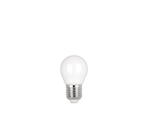 Lâmpada LED Filamento Milky Mini Bulbo 2W 200lm 2700K