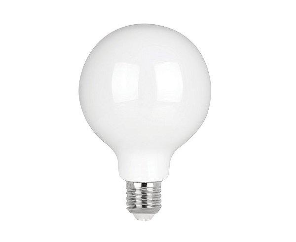Lâmpada LED Filamento Milky Balloon G95 4W 400lm 2700K