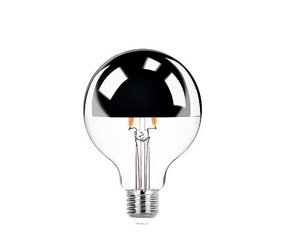 Lâmpada LED Filamento Defletora Balloon G95 5W 400lm 2400K