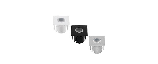 Mini Embutido para Móveis Direcionado (30°) 1,2W 80lm 3000K