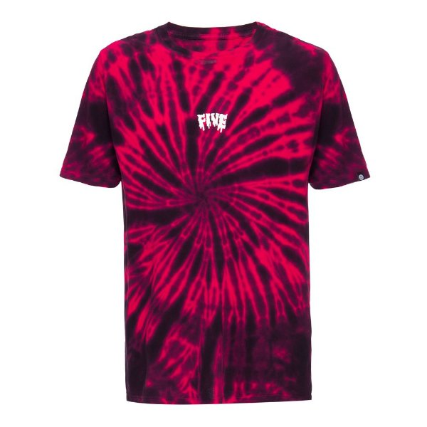 Camiseta Fivebucks Tie Dye Melted Spiral