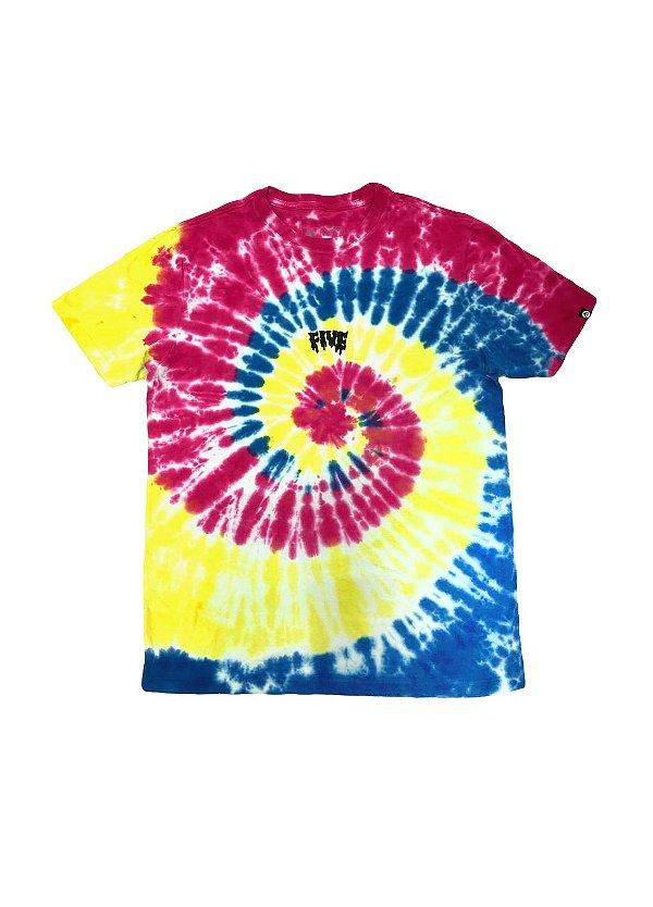Camiseta Fivebucks Tie Dye Melted Classic