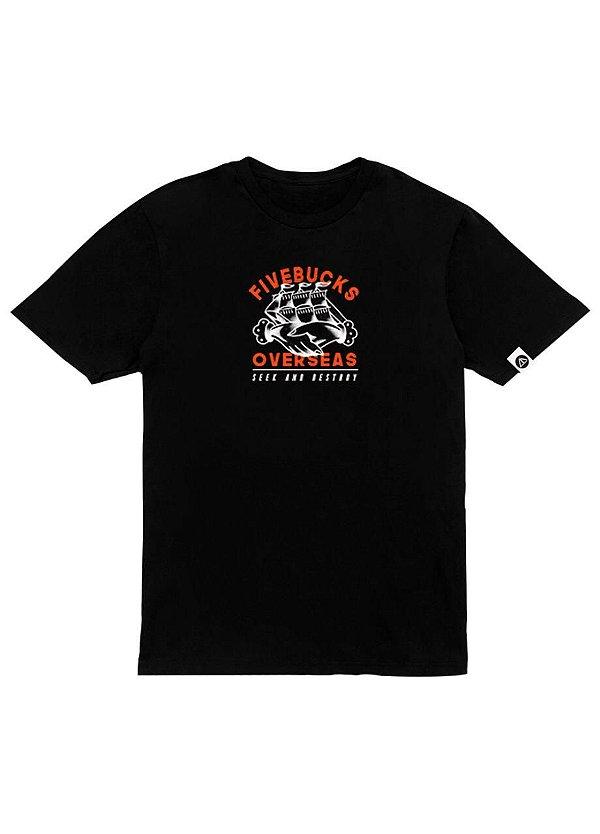 Camiseta Overseas Fivebucks - Tattoo