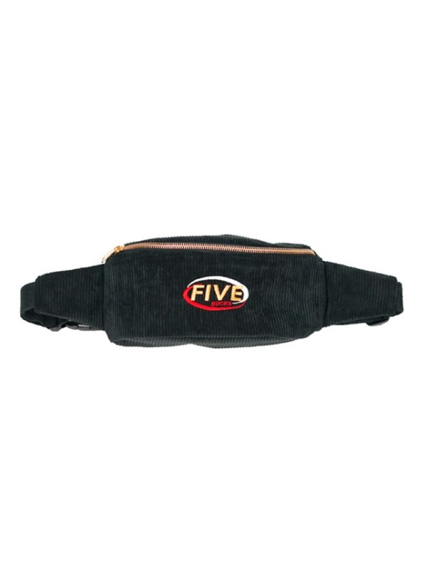 Fivebucks Belt Bag Cotelê Black