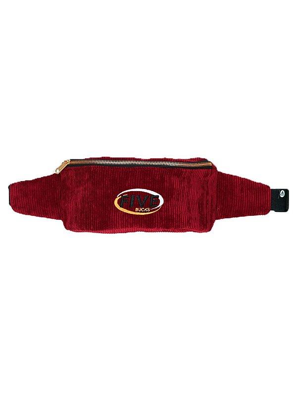 Fivebucks Belt Bag Cotelê Wine
