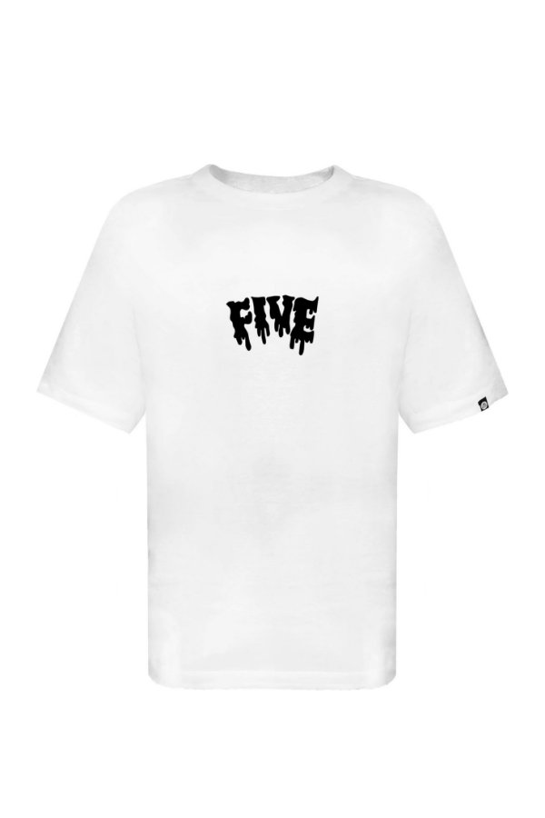 Tee Fivebucks Melted Branca