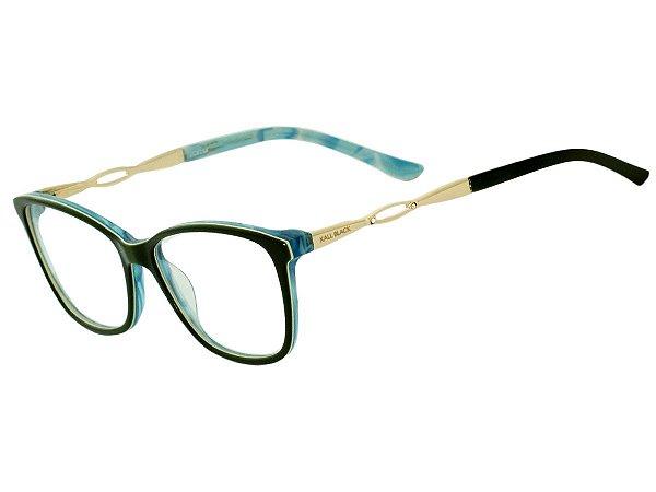 Oculos Armação de Grau Feminino Original Kallblack AF6264 Verde