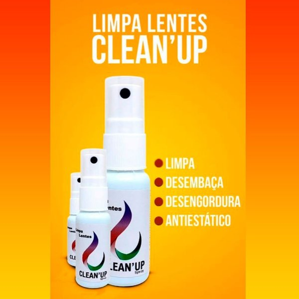 Kit 10 Spray Limpa Lentes 25ml