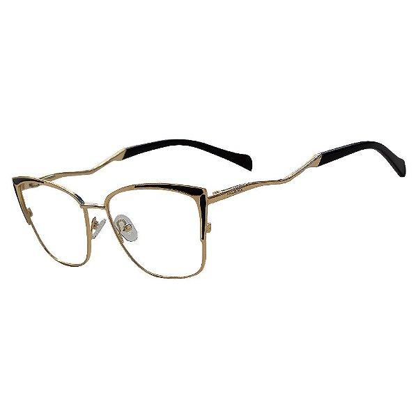 Armação Óculos Grau Feminino KALLBLACK AF8333