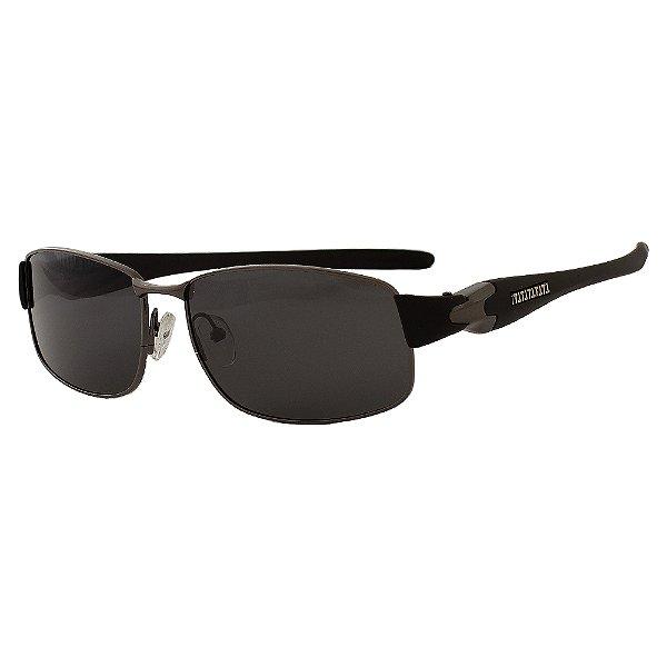 Óculos de Sol Masculino Kallblack SM123523P Preto Estiloso Arredondado